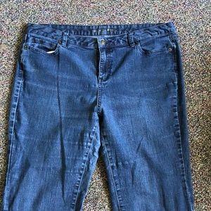 Michael Kors 16w blue jeans.